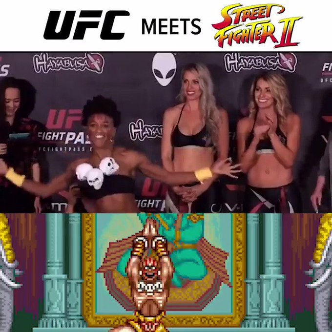 UFC fighter @AngieOverkill takes Street Fighter #cosplay to a whole new level!
