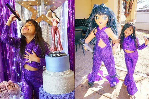 This girl's Selena-themed birthday party is the definition of amazing https://t.co/EuYcIYIgOo