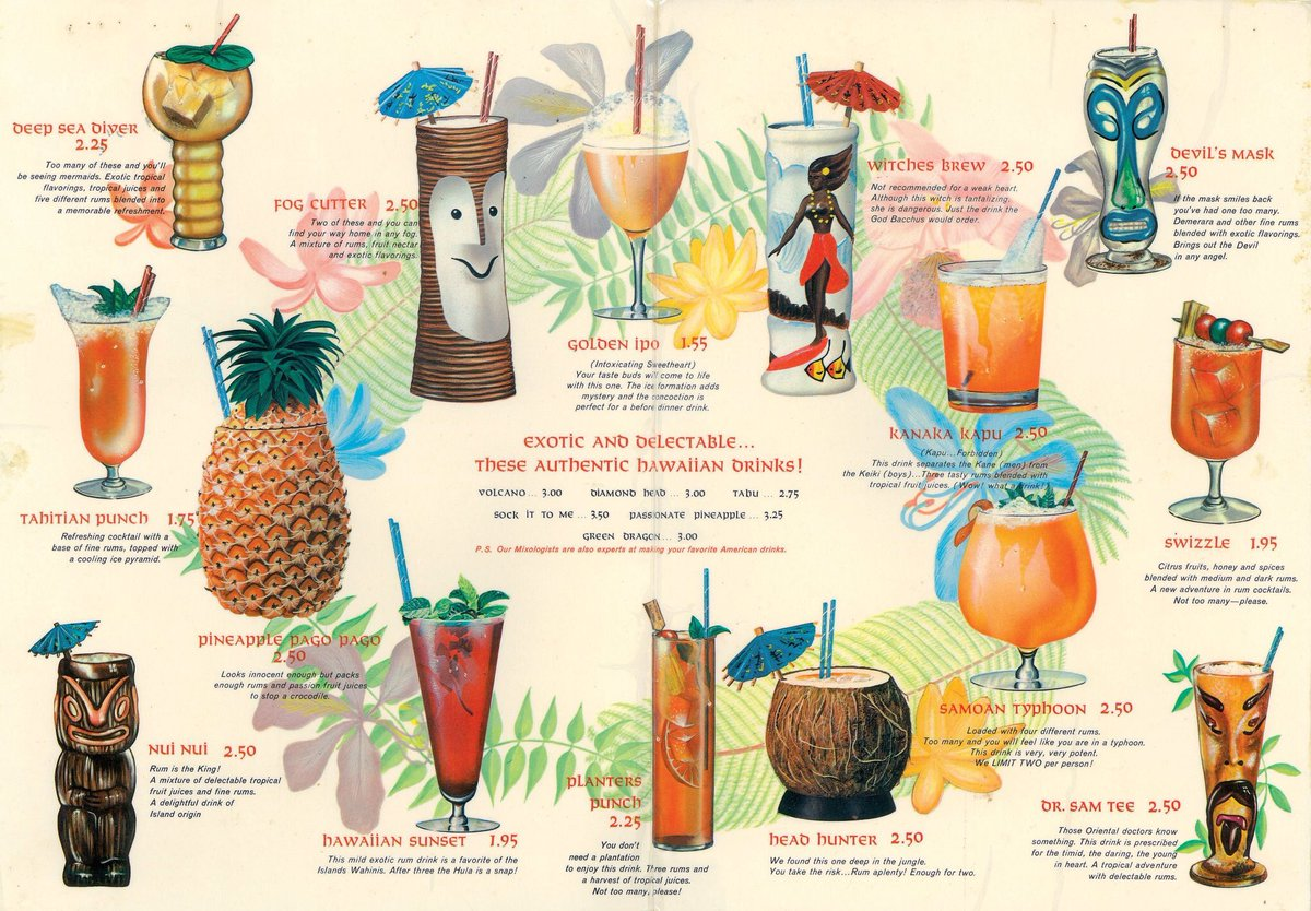 Which #TIKI drink should I have first? https://t.co/GtlFP1mCVZ