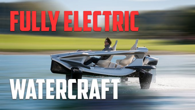 @TheRealAutoblog: The @Quadrofoil Q2 is a fully electric watercraft that lets you fly on water https://t.co/JO203BgQPx