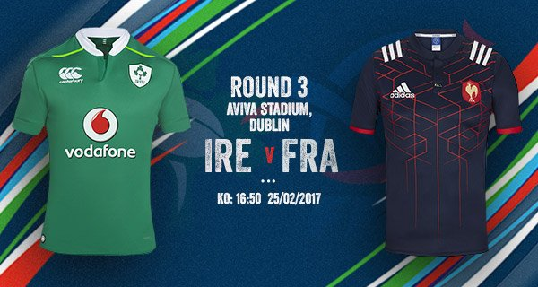 It's game day, C'mon Ireland! 🇮🇪🇮🇪 #IREvFRA  #ForVictory https://t.co/Vy6M7db2Zw