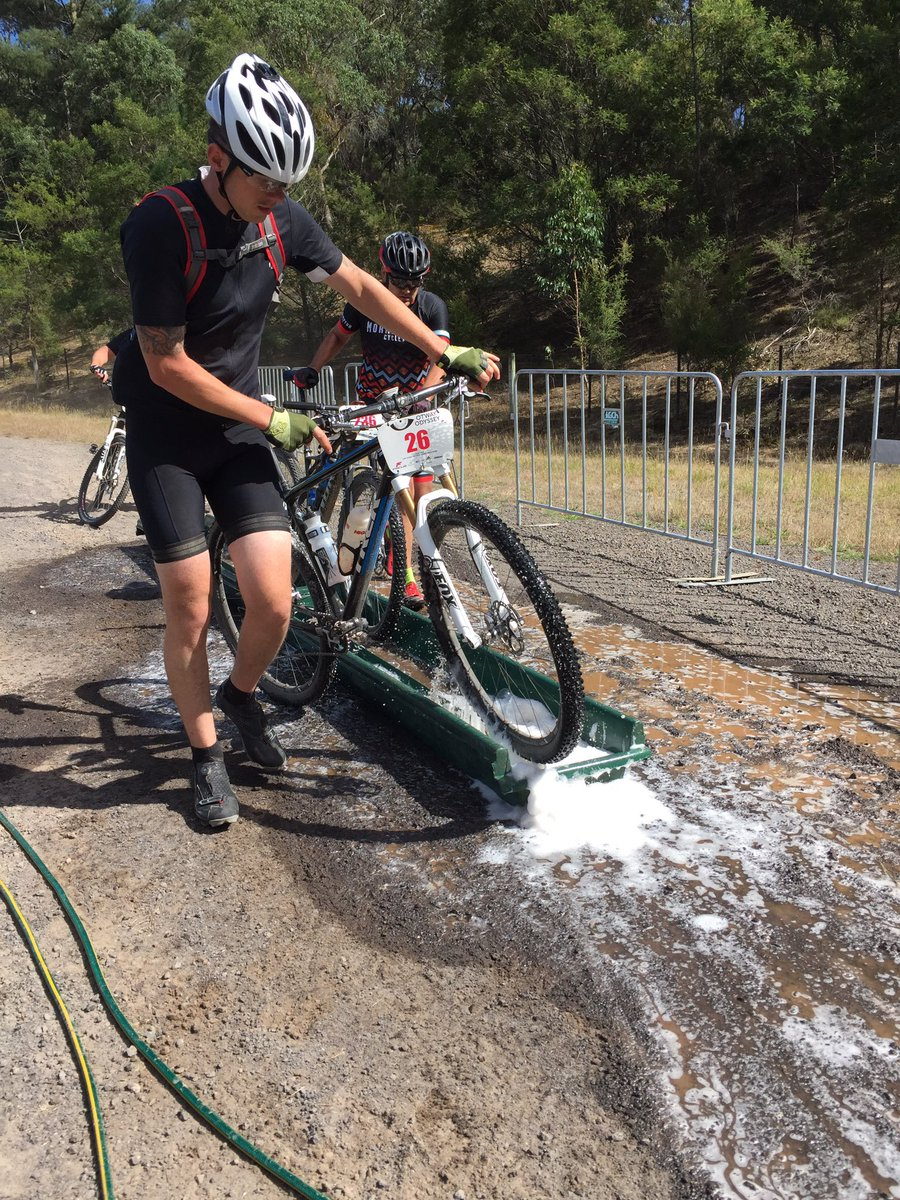 PC Bike wash in action at the #otwayodyssey #mtb #environment https://t.co/187vyfvI6D