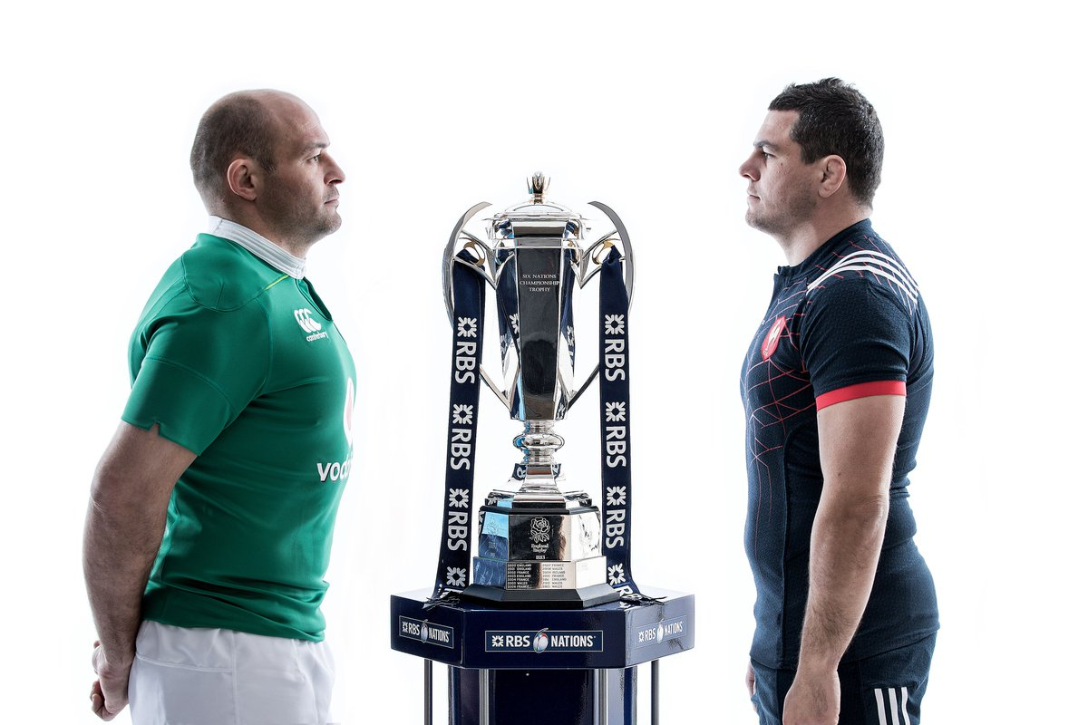 Let the battle commence! #ForVictory #IREvFRA https://t.co/RWUG2I1HxF