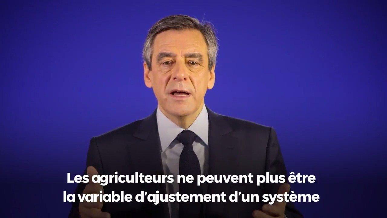 #SIA2017 @FrancoisFillon réaffirme sa volonté d'agir pour que nos agriculteurs puissent enfin vivre de leur travail https://t.co/7JDWmeuHo4