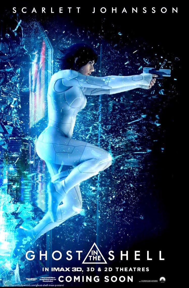 #今週のミーハーな映画news スカーレット ヨハンソン主演『ゴースト イン ザ シェル』よりIMAX版ポスターが公開!