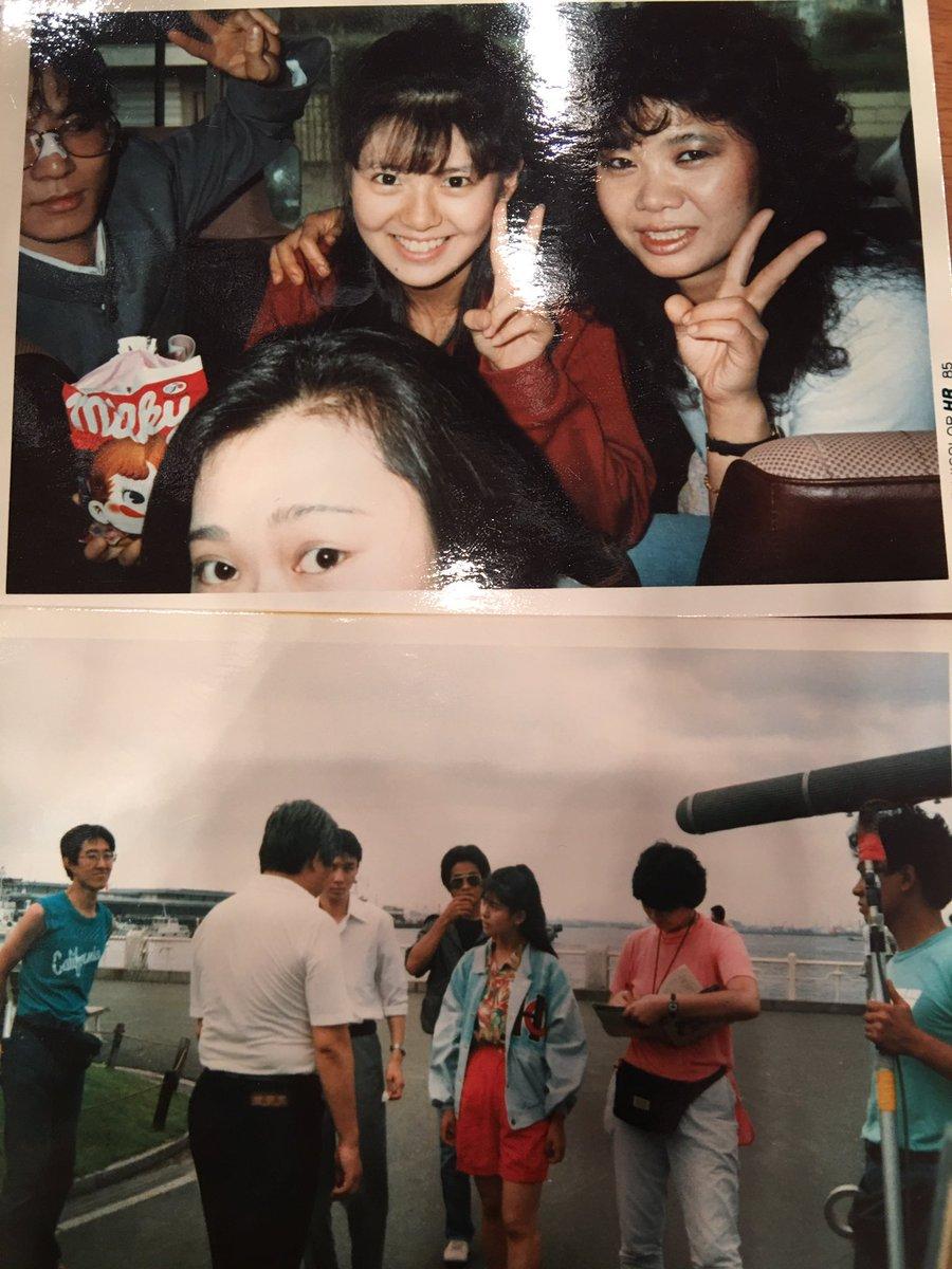 なんと 南野陽子さま 31年前 テレビドラマ 時をかける少女 で、父 中川勝彦と共演したことを覚えていてその時の貴重なス
