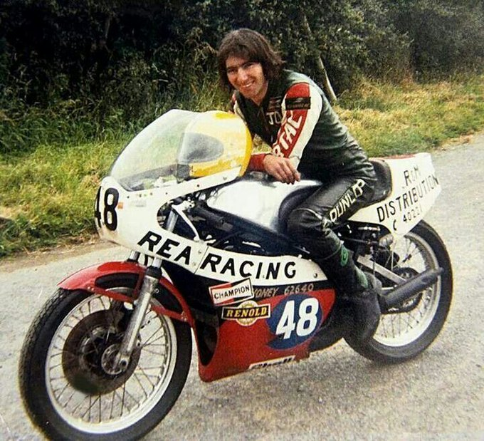 Happy Birthday Joey Dunlop, François Cevert, and George Harrison. All heroes of mine, all sadly departed.