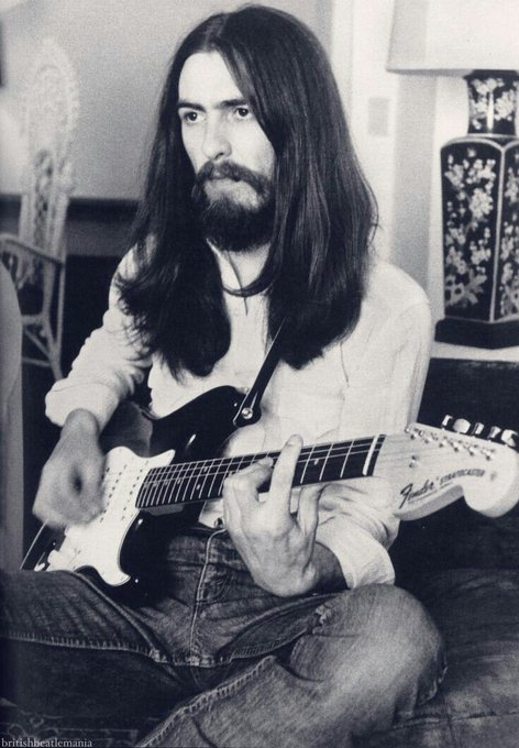 Happy Birthday George Harrison \With our love we can save the world\