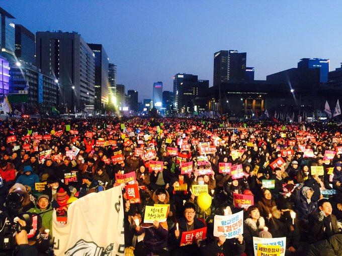 박근혜를 구속하라!