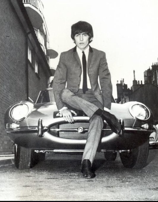 Happy birthday to george harrison who would be 74 today. RIP my love