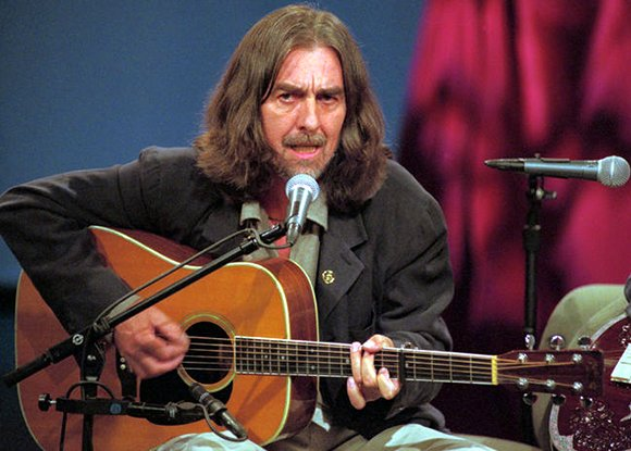 Happy Birthday to my favorite Beatle, George Harrison, born February 25, 1943