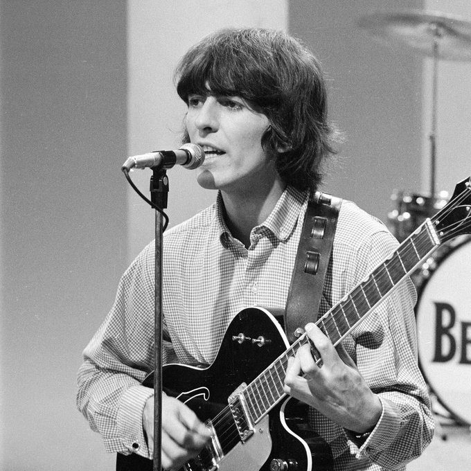 My favorite Beatle would be 74 today  Happy Birthday George Harrison