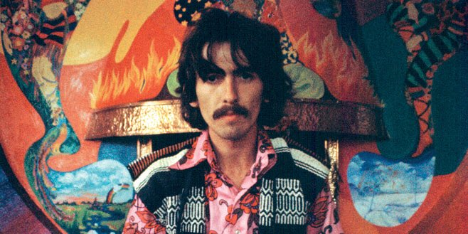 Happy Birthday     1943 George Harrison is born in Liverpool, England. (Lead guitarist for the Beetles)