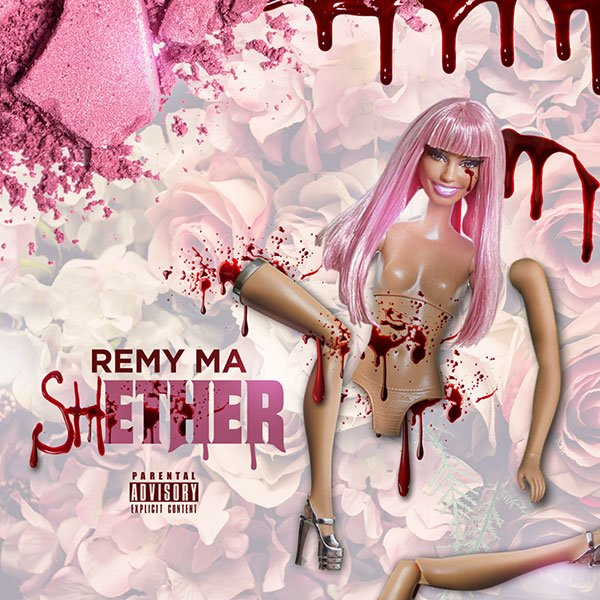 "Remy Ma unleashes her scathing Nicki Minaj diss track ""shETHER."" Listen: https://t.co/m39nWAPQD8"
