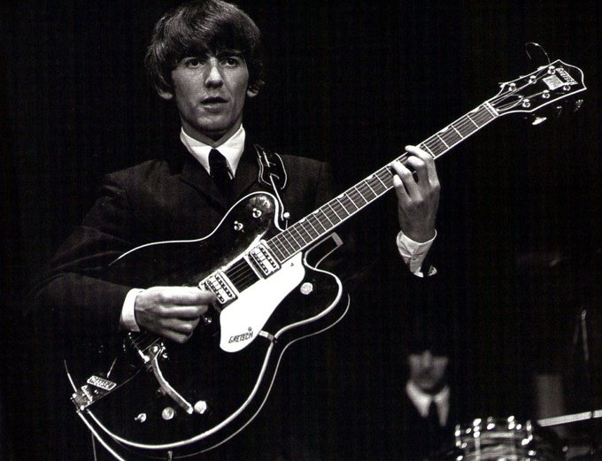 Happy Birthday George Harrison. Sigh.