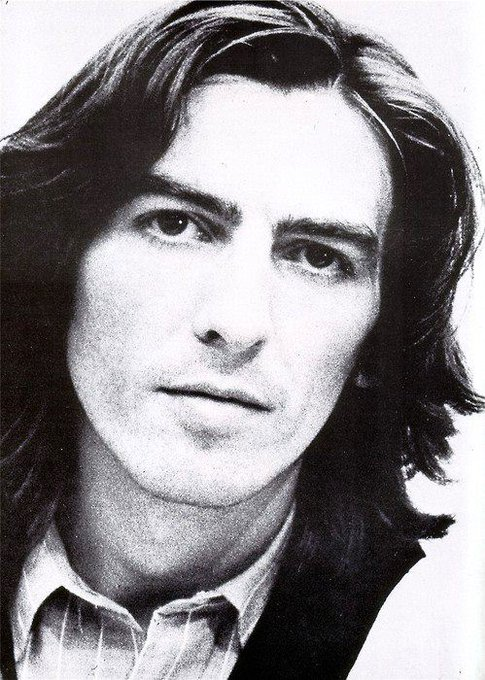 Happy birthday George Harrison !  With our love, we could save the world. George Harrison