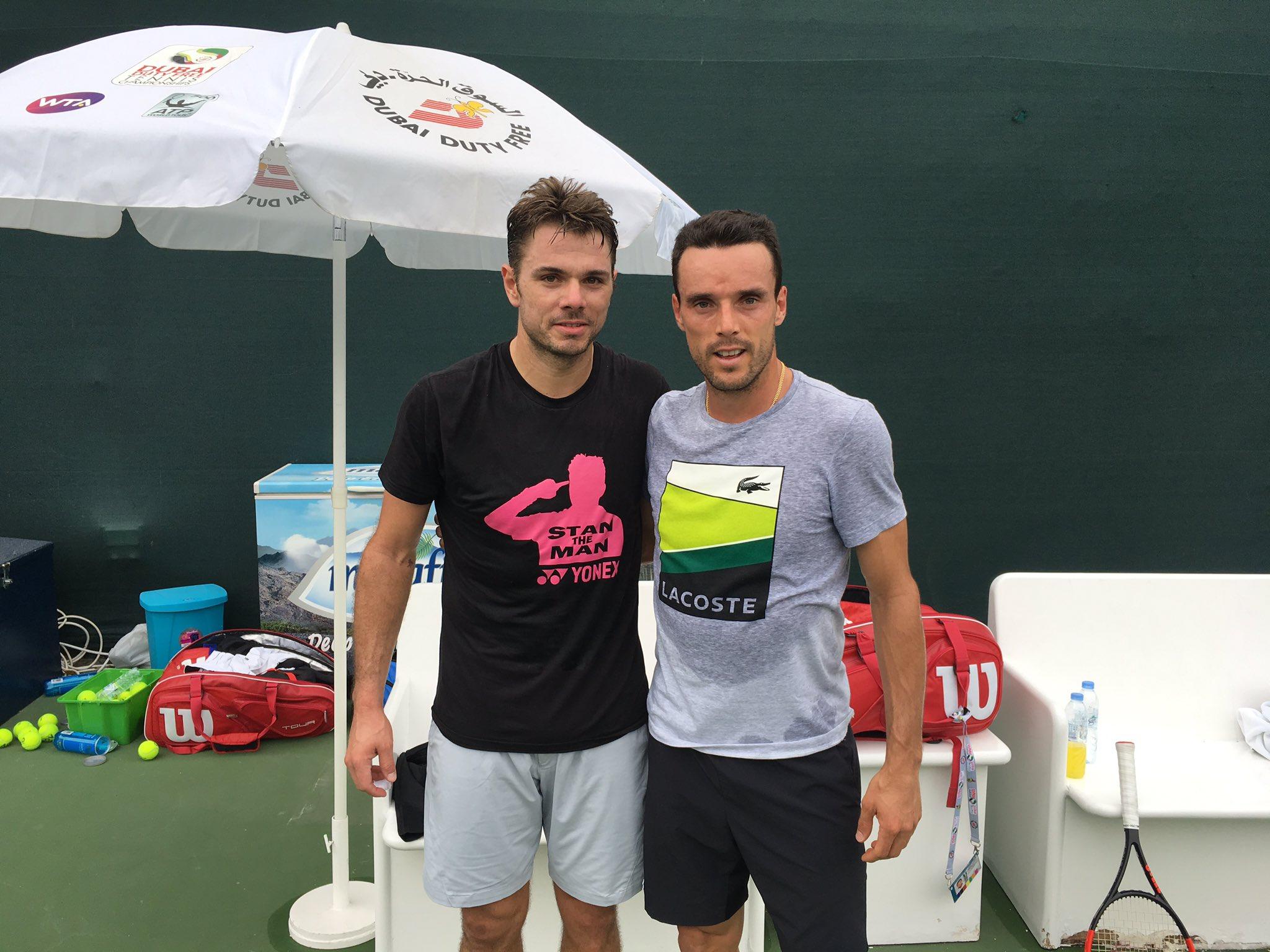 Great practice with @BautistaAgut @DDFTennis !! Gracias amigo ゚ラᆪ゚ヌᆰ゚ヌᄌ゚マピマᄏ゚マテ゚マᄏ゚ニユ゚ムユ゚ムノ゚マᄏ゚リチ https://t.co/yvkZs5E4s9