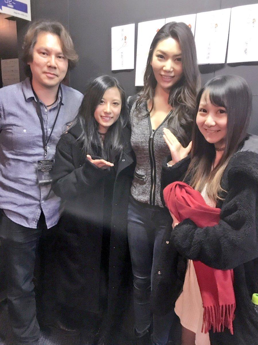 戦国BASARA武将テーマ ヴォーカルコレクションで共演した秋田知里ちゃん が観劇にきてくれました!!約1年ぶりに会えて