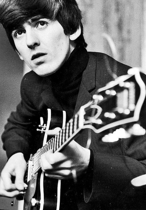 George Harrison would\ve been 74 today, happy birthday to a legend