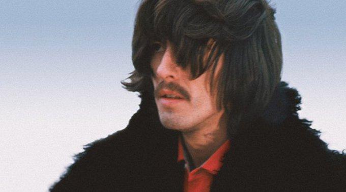 in 1943, legendary George Harrison was born. Happy birthday George
