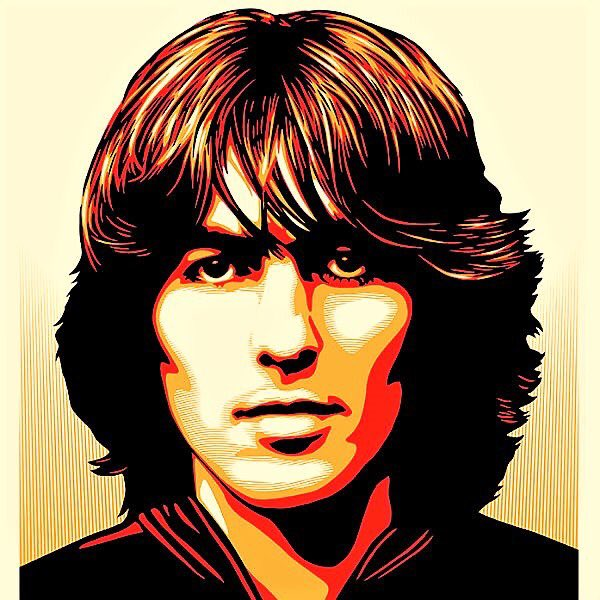Happy birthday to my favorite Beatles member and one of my biggest inspirations, George Harrison!