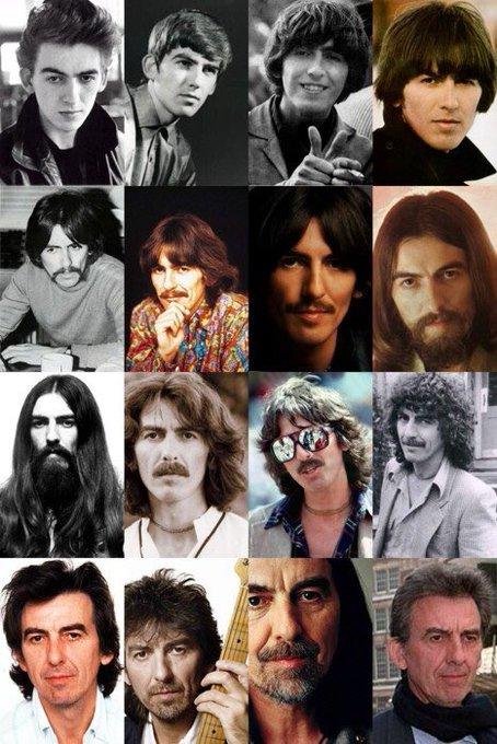 Happy 74th Birthday, George Harrison!