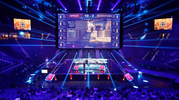 Appealing to millennials, Las Vegas gets e-sports arena