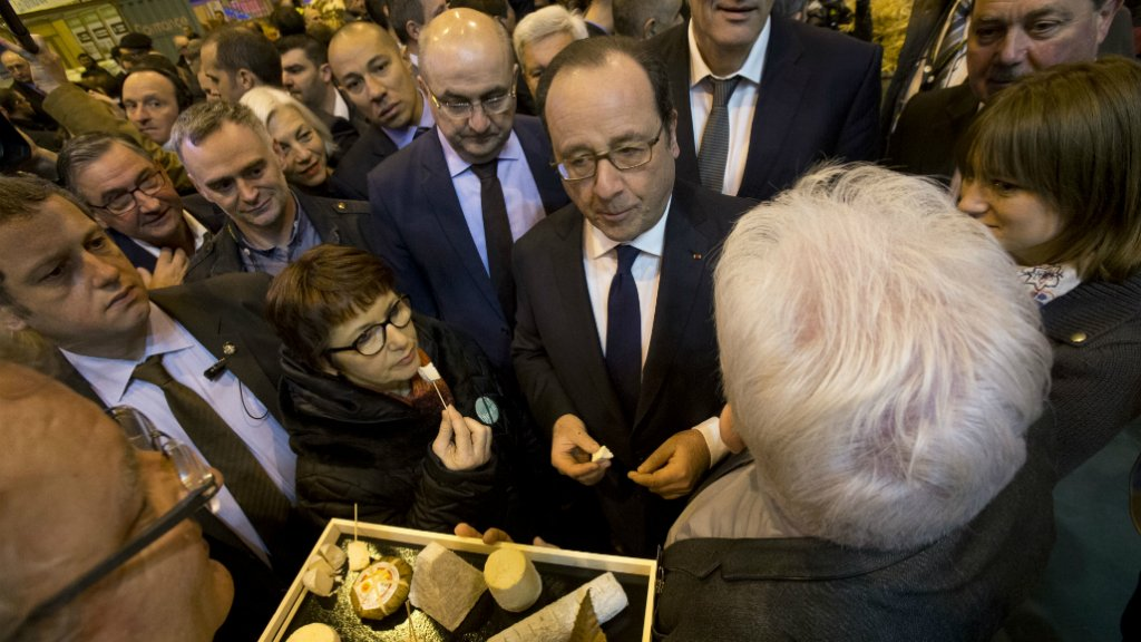 Paris agriculture fair showcases a changing industry