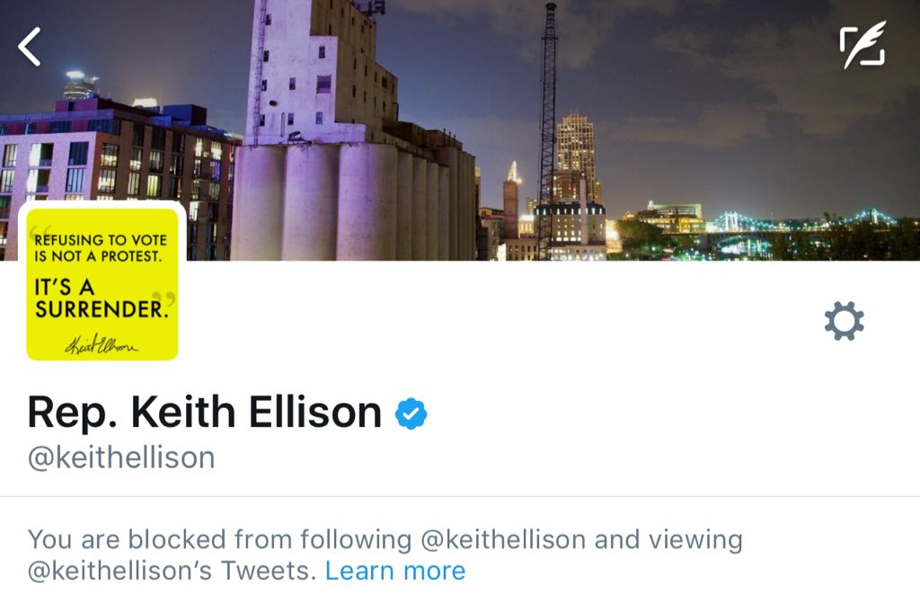 RT @Cernovich: Keith Ellison has graciously responded to my endorsement! https://t.co/D8pCeR5A9I