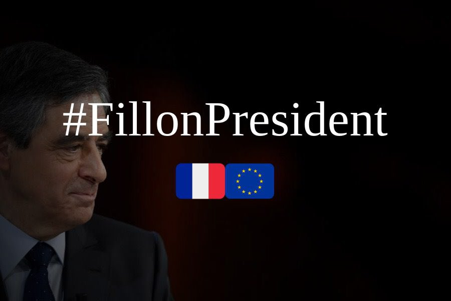 Mobilisation filloniste sur Twitter ! Dimanche 26 février à 18h, on met #FillonPresident en TT France ���� �� https://t.co/qwNSRmRBAn