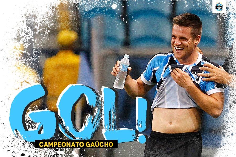 Ramiro marca e amplia o placar! Cruzeiro 0x2 Grêmio #Gauchão2017 #VamosTricolor #DiaDeGrêmio