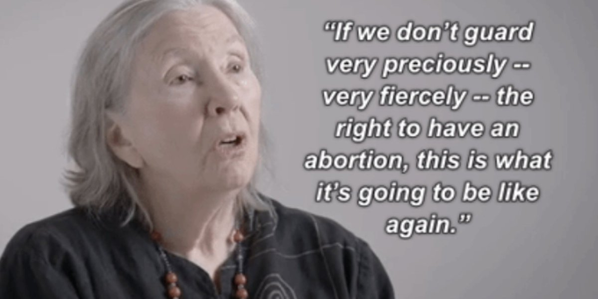 WATCH: This is what abortion looked like before #RoeVWade. https://t.co/NJhHyvDgo1 @lannadelgrey #WeWontGoBack