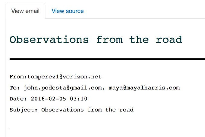 Inside the mind of new #DNCChair Tom Perez: Email to John Podesta during his campaign against @SenSanders https://t.co/EoJNbOffN5