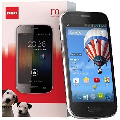 #free #win #iphone #style #digital #usb #music #giveaway RCA M1 Unlocked Cell Phone, Dual Sim, 5Mp Camera, Android 4.4, 1.3Ghz #rt