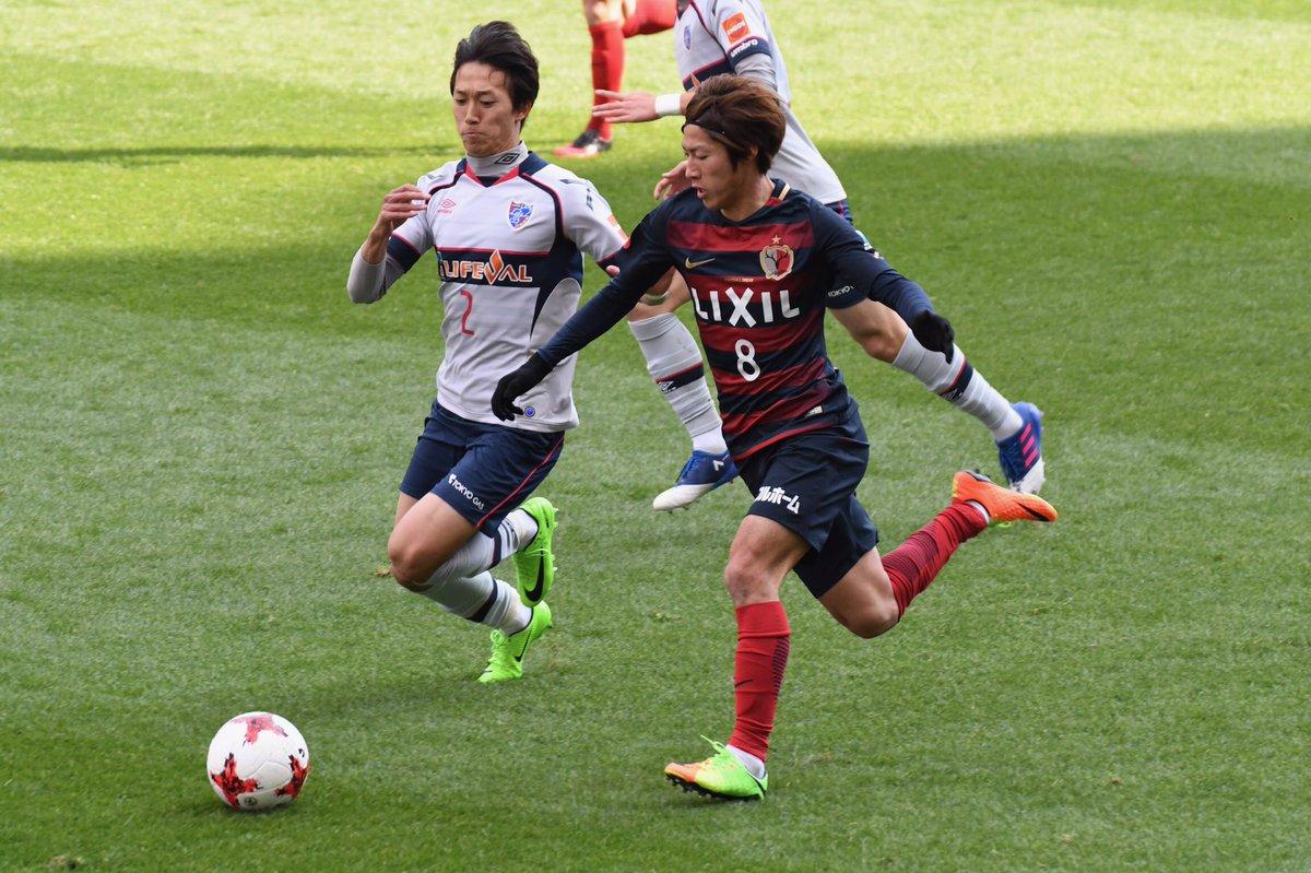 ◎2017.02.25 Jリーグ 第1節 鹿島アントラーズ VS #FC東京主審の西村さんから注意を受ける前の場面。4枚