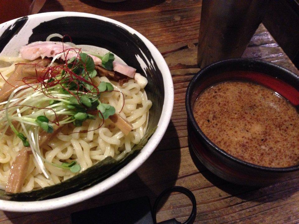 麺場 ハマトラ【日吉】つけ麺 720YEN(慶應支部長)#お湯会