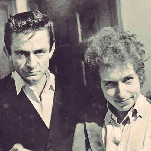 BOB DYLAN & JOHNNY CASH GIRL FROM THE NORTH COUNTRY HAPPY BIRTHDAY JOHNNY CASH