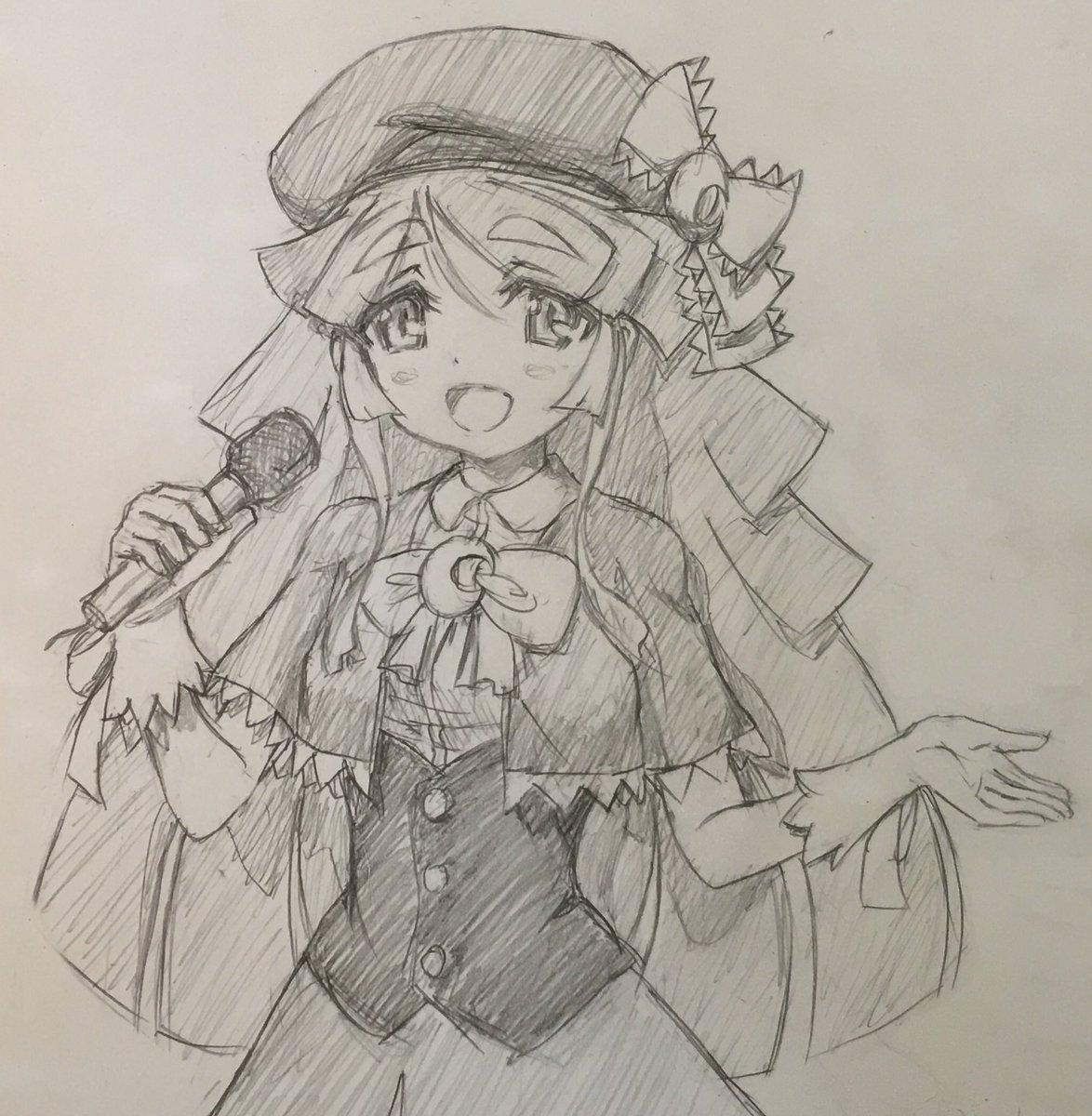 歌唱する 月詠るなちゃん (cv:徳井青空さん) (*^▽^*)ノ *完成版そらまるぅ! ミラクル青空ナイト  で素敵に