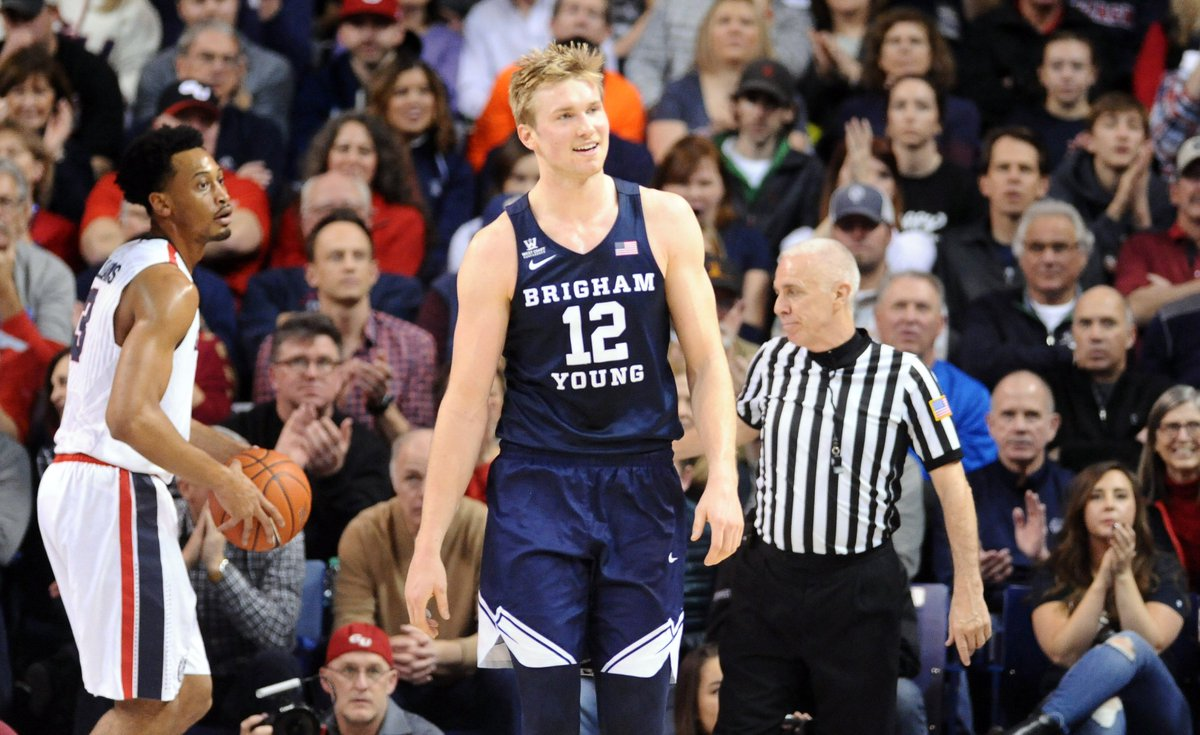 Undefeated no longer!BYU takes down No. 1 Gonzaga, 79-71