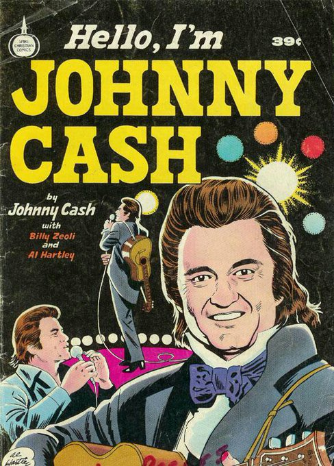Happy birthday to Johnny Cash, born 26 February 1932!