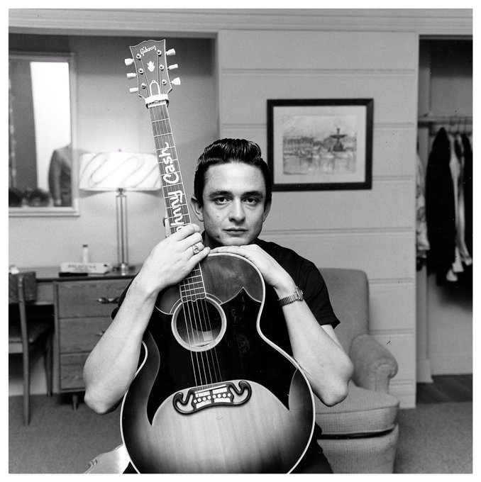 Happy Birthday to Johnny Cash, the Man In Black.