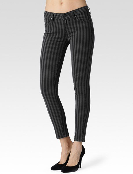 Paige Denim Womens Verdugo Ankle Pant | Concrete London Stripe | Size 25  https://t.co/6coeT3MfdT https://t.co/NI8gzP9Eor