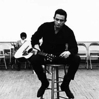 Happy birthday to the man in black Johnny Cash.