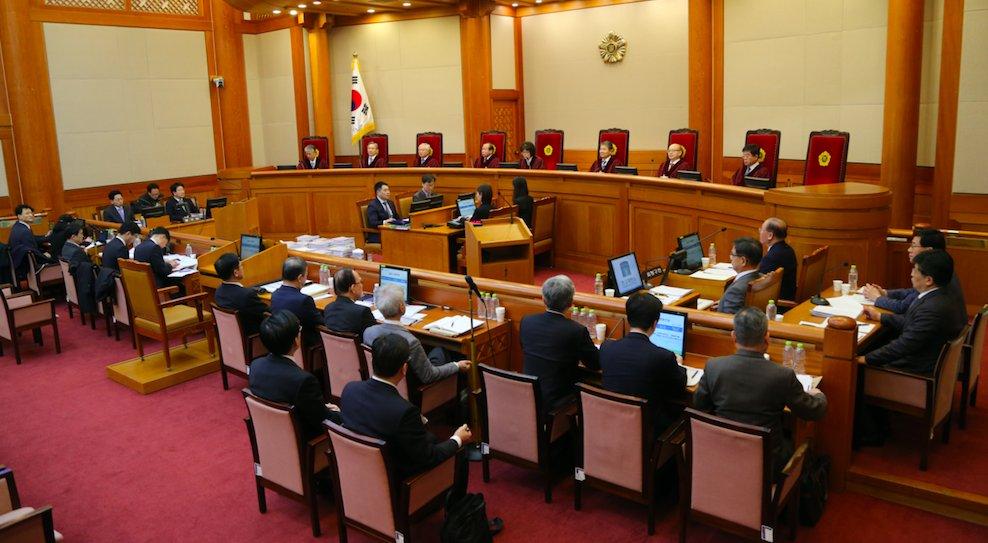 헌재는 박 대통령 출석 여부와 관계없이 27일 오후 2시 17차 변론을 열고 탄핵심판 심리를 마친다.  https://t.co/mxcxkp2aqp