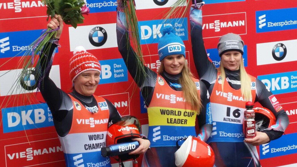 Dreifach-Erfolg der BSD-Rennrodlerinnen beim Weltcup-Finale in Altenberg #LugeLove #BSDTeam https://t.co/yqkuYzw823