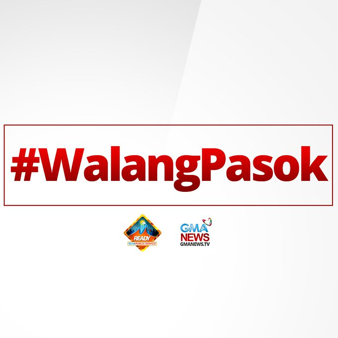 JUST IN: Malacañang announces classes in NCR (elementary and HS) are suspended, Monday, Feb 27. 2017 due to transport strike #WalangPasok