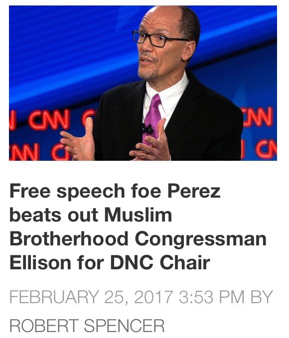 #1 Perez Will NOT OPPOSE An Islamic Blasphemy Law  #2 MuslimBrotherhood Ellison Is More Dangerous In The Shadows   https://t.co/aO4aqIyuBq