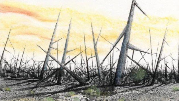 [1만년 뒤 인류는 핵쓰레기 알아볼 수 있을까] 수만년 뒤 지구에서 살고 있을 후대인류에게 사용후핵연료 처분장 표식을 남겨야 한다.  #핵폐기물_맹독성_사라지는_시간만_1만에서_10만년 https://t.co/wGjQGggUzz