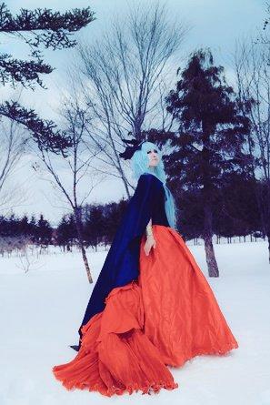 雪ロケ 聖闘士星矢 北極星のヒルダphoto by katranさん#聖闘士星矢