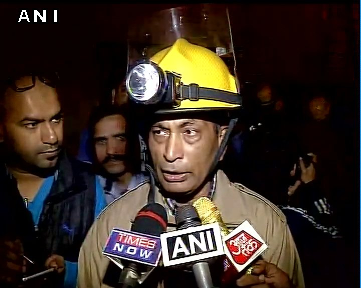 31 fire engines operating. Fire fighting operations on; no casualties reported: Chief Fire Officer (West) Vipin Kental on TOI building fire
